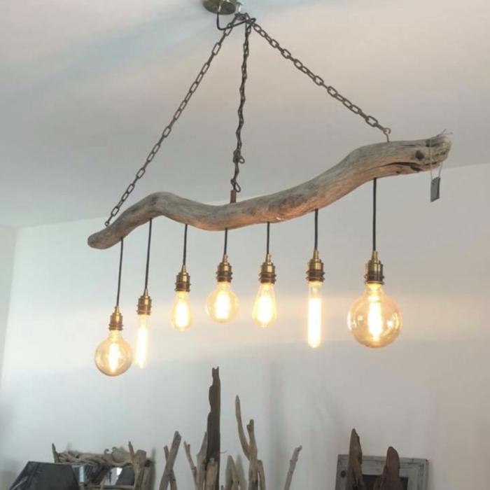 lampes eclairage allumées